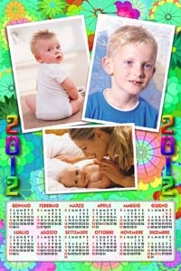 Calendario Bimbi.Photo Express Digital Calendari 2012 Bambini